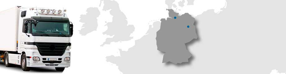 Standortkarte Deutschland